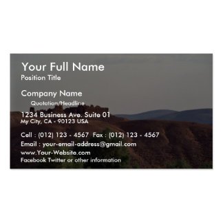 Hilltop casbah, Morocco Pack Of Standard Business Cards