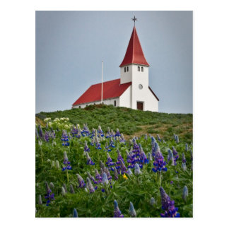 Hilltop Church Postcard