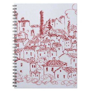 Hilltop Town of Callian | South of France Notebooks