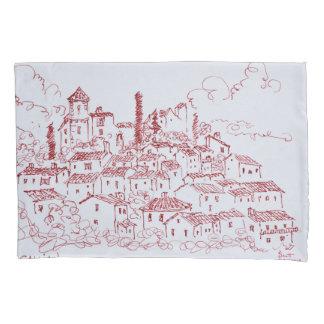 Hilltop Town of Callian | South of France Pillowcase