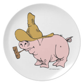 Hilly Pig Plate