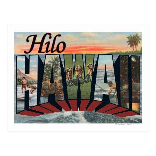 Hilo, HawaiiLarge Letter ScenesHilo, HI Postcard