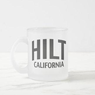 Hilt California Frosted Glass Mug