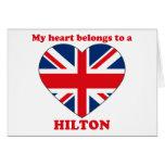 Hilton Cards