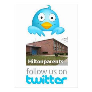Hilton Elementary Postcard