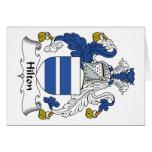 Hilton Family Crest Cards