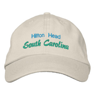 HILTON HEAD I cap Embroidered Hat