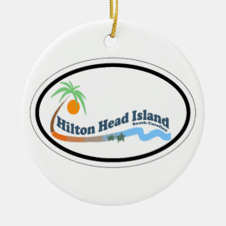 Hilton Head Island. Christmas Ornament
