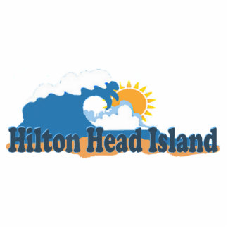 Hilton Head Island. Photo Sculpture Magnet