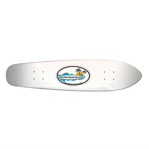 Hilton Head Island. Skateboard