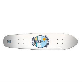 Hilton Head Island. Custom Skateboard