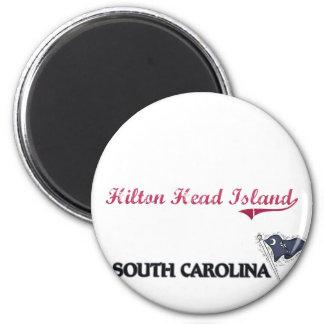 Hilton Head Island South Carolina City Classic 6 Cm Round Magnet