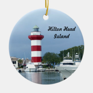 Hilton Head  Lighthouse Christmas Ornament