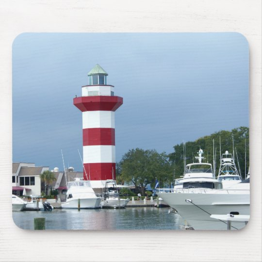 Hilton Head Lighthouse Mouse Mat