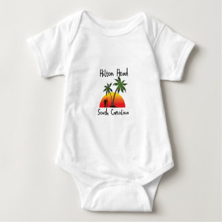 Hilton Head South Carolina Baby Bodysuit