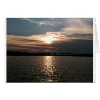 Hilton Head Sunset Card
