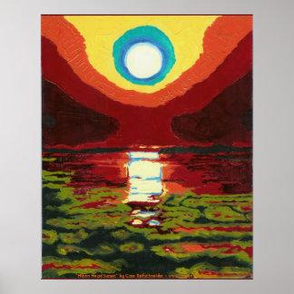 Hilton Head Sunset Poster