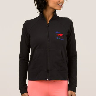 Hilton Horsemen women zip up Jacket