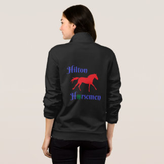 Hilton Horsemen- zip up warm up- Womens