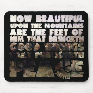 Him that Publishes Peace & 1st Thanksgiving Scene Mouse Pad