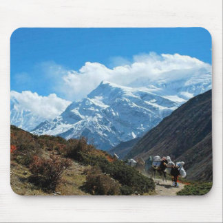Himalaya Mount Everest India Nepal Travel Summer Mouse Pad