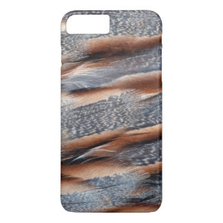 Himalayan Snowcock Feather Design iPhone 8 Plus/7 Plus Case