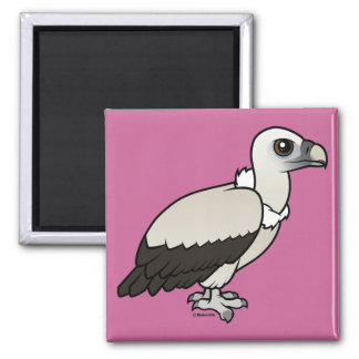 Himalayan Vulture Square Magnet