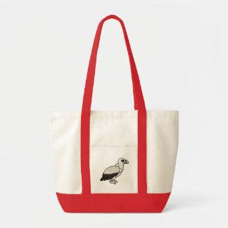 Himalayan Vulture Impulse Tote Bag