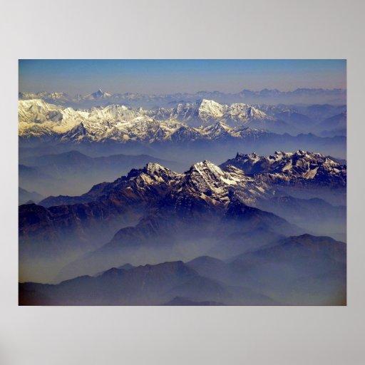 Himalayas Landscape Print