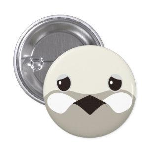 himeuzura (silver) - Quail (silver) 3 Cm Round Badge