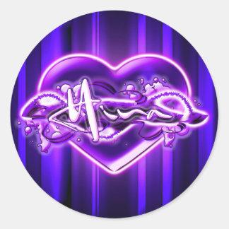 Hina Round Sticker