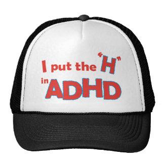 HinADHD Mesh Hats