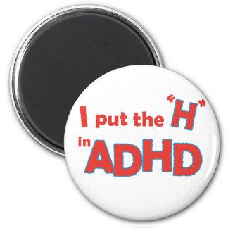 HinADHD Refrigerator Magnet