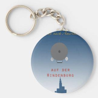 Hindenburg Zeppelin Keychain