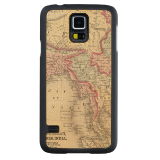 Hindoostan, Farther India, China, Tibet 2 Carved Maple Galaxy S5 Case