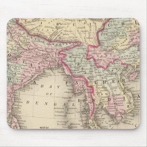 Hindoostan, Farther India, China, Tibet 2 Mousepads