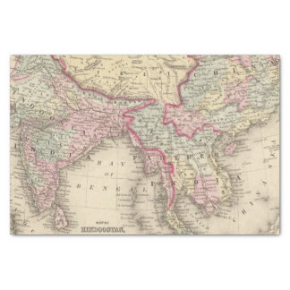 Hindoostan, Farther India, China, Tibet 2 Tissue Paper