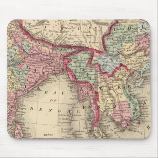Hindoostan, Farther India, China, Tibet Mouse Pad