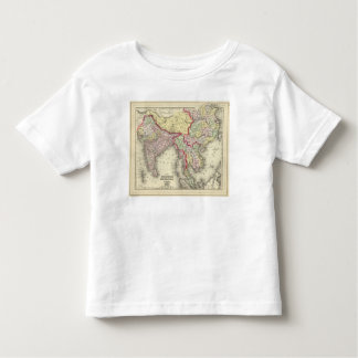 Hindoostan, Farther India, China, Tibet Toddler T-Shirt