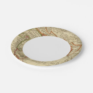 Hindoostan or India 7 Inch Paper Plate