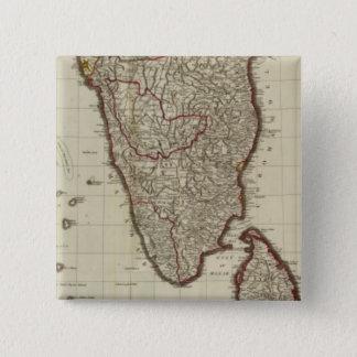 Hindoostan south 15 cm square badge