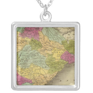 Hindostan 3 silver plated necklace