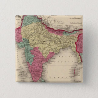 Hindostan Or British India 15 Cm Square Badge