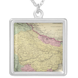 Hindostan Or British India 2 Silver Plated Necklace