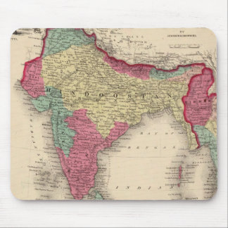 Hindostan Or British India Mouse Mat