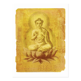 Hindu Buddha Postcard