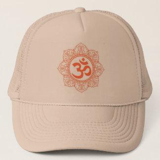 HINDU - BUDDHA SYMBOLS OM,OHM TRUCKER HAT