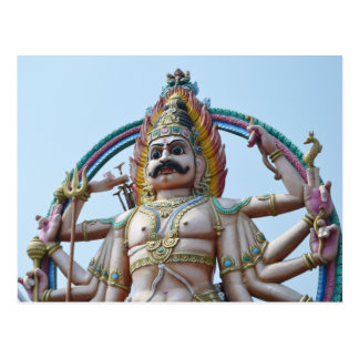 Hindu Deity Photo Print Postcard
