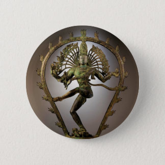 Hindu Deity Shiva Tamil the Destroyer Transformer 6 Cm Round Badge