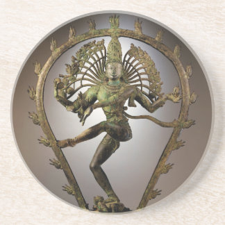 Hindu Deity Shiva Tamil the Destroyer Transformer Beverage Coaster